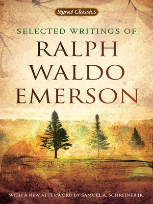 cover image of Selected Writings of Ralph Waldo Emerson