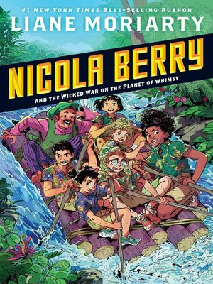 cover image of Nicola Berry and the Wicked War on the Planet of Whimsy