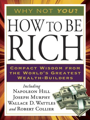 cover image of How to Be Rich
