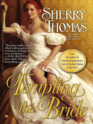 cover image of Tempting the Bride