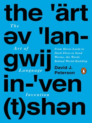 cover image of The Art of Language Invention