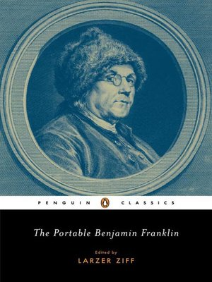 cover image of The Portable Benjamin Franklin