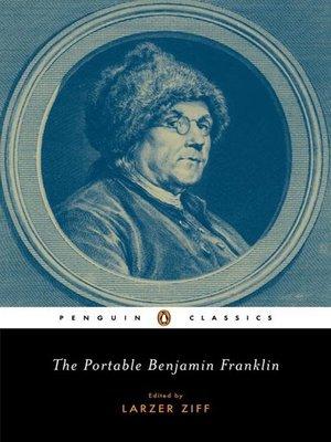 cover image of The Portable Benjamin Franklin