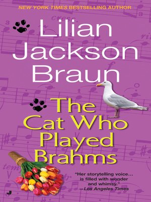 cover image of The Cat Who Played Brahms