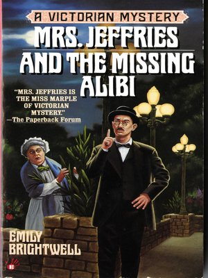 cover image of Mrs. Jeffries and the Missing Alibi