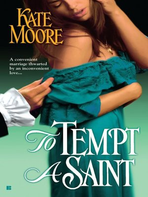 cover image of To Tempt a Saint