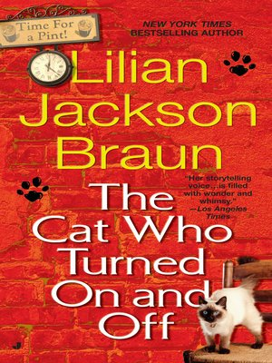 cover image of The Cat Who Turned On and Off