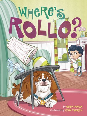 cover image of Where's Rollo?