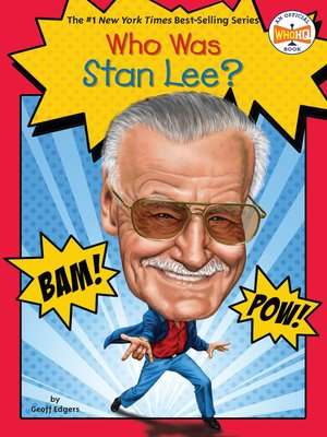 cover image of Who Was Stan Lee?