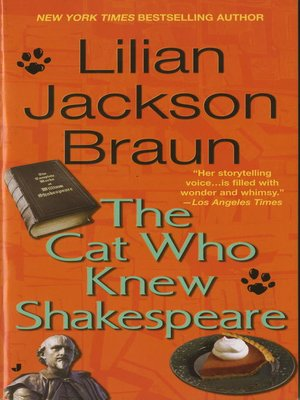 cover image of The Cat Who Knew Shakespeare