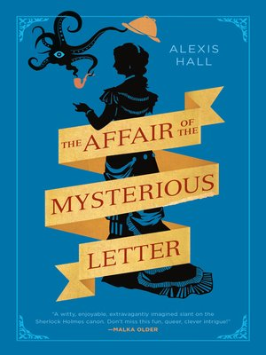 cover image of The Affair of the Mysterious Letter