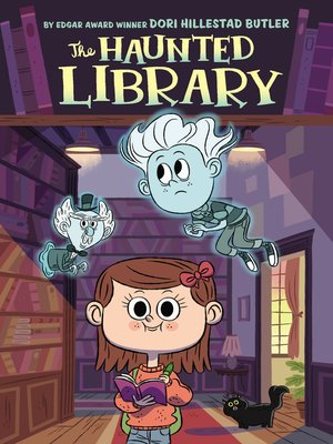 cover image of The Haunted Library