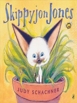 cover image of Skippyjon Jones