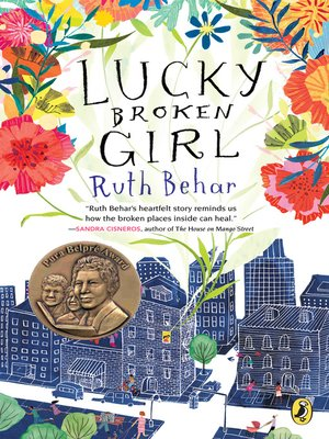 cover image of Lucky Broken Girl