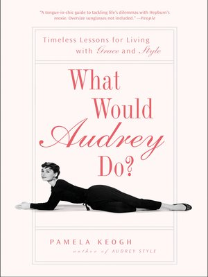 cover image of What Would Audrey Do?
