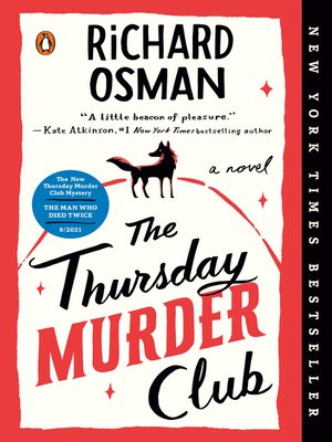 cover image of The Thursday Murder Club--A Novel
