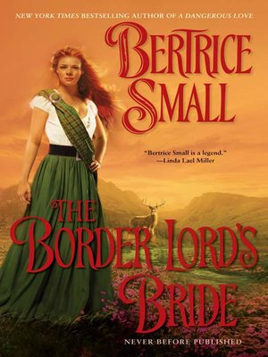 cover image of The Border Lord's Bride