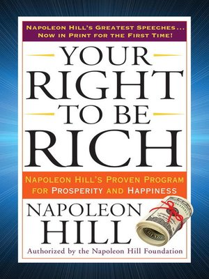 cover image of Your Right to Be Rich