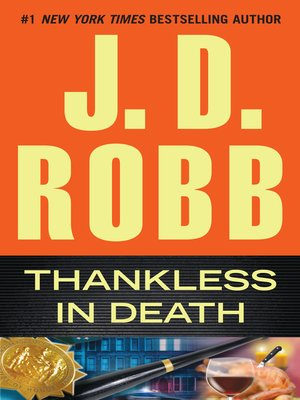 cover image of Thankless in Death