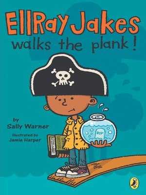 cover image of Ellray Jakes Walks the Plank