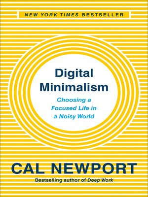 cover image of Digital Minimalism