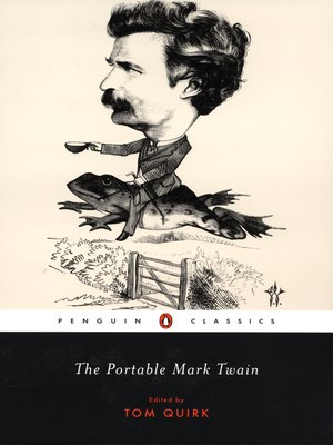 cover image of The Portable Mark Twain