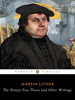 cover image of The Ninety-Five Theses and Other Writings