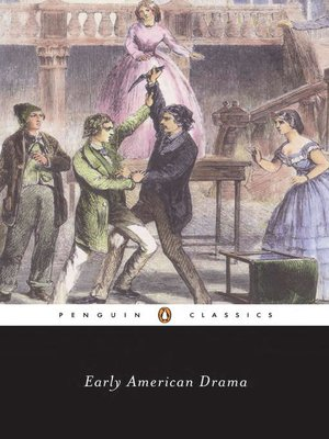 cover image of Early American Drama