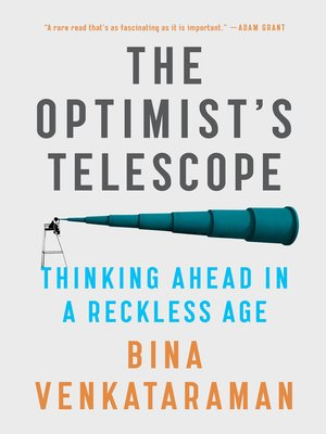 cover image of The Optimist's Telescope