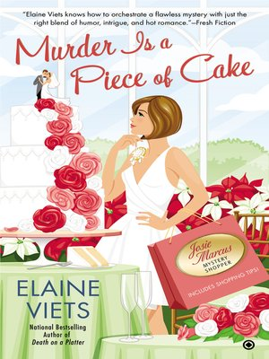 cover image of Murder is a Piece of Cake