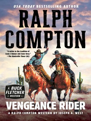 cover image of Ralph Compton Vengeance Rider