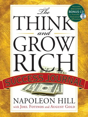 cover image of The Think and Grow Rich Success Journal