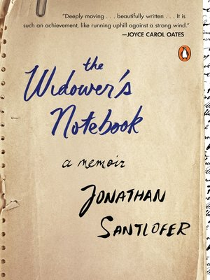 cover image of The Widower's Notebook