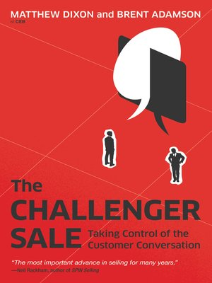 cover image of The Challenger Sale