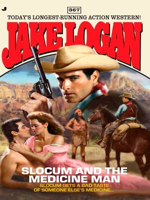 cover image of Slocum and the Medicine Man