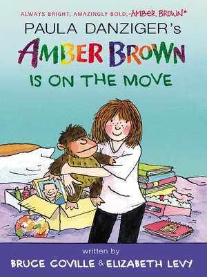 cover image of Amber Brown Is on the Move