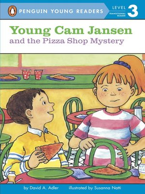 cover image of Young Cam Jansen and the Pizza Shop Mystery