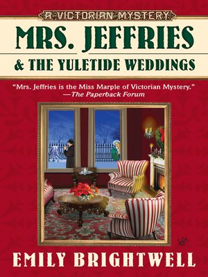 cover image of Mrs. Jeffries & the Yuletide Weddings