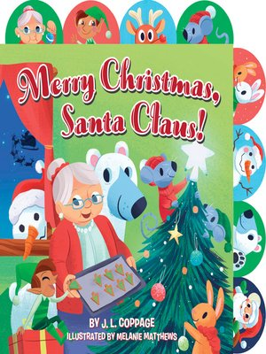 cover image of Merry Christmas, Santa Claus!