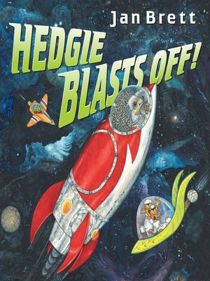 cover image of Hedgie Blasts Off!