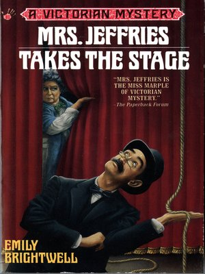 cover image of Mrs. Jeffries Takes the Stage