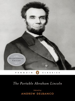 cover image of The Portable Abraham Lincoln