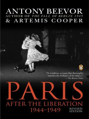 cover image of Paris After the Liberation 1944-1949