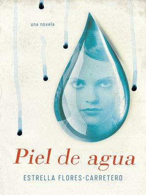cover image of Piel de agua