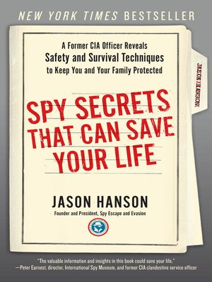 cover image of Spy Secrets That Can Save Your Life