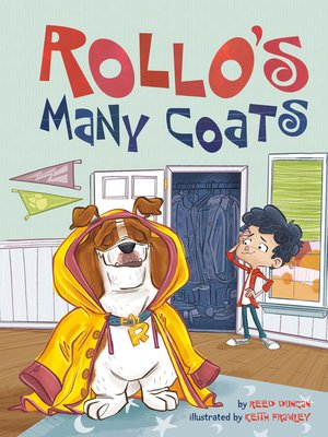 cover image of Rollo's Many Coats