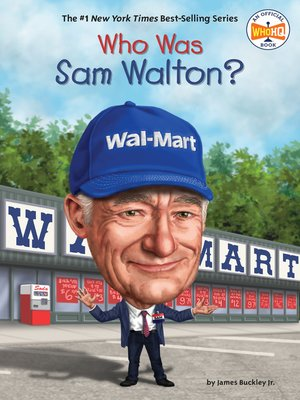 cover image of Who Was Sam Walton?