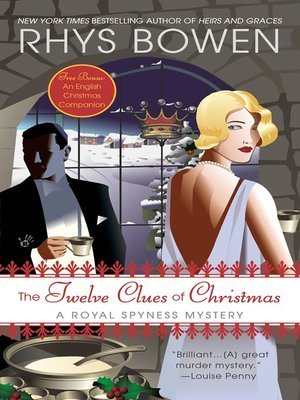 cover image of The Twelve Clues of Christmas
