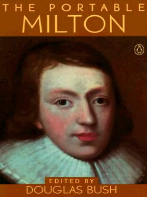 cover image of The Portable Milton