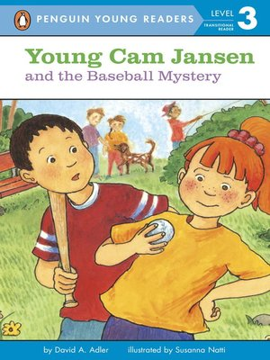 cover image of Young Cam Jansen and the Baseball Mystery